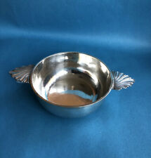 RAR Silber-Schale mit schönen Griffen, Ø 11,5 cm, 800er Silber, ~ 1930, 161g