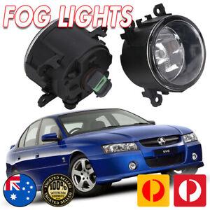 FOG LIGHTS PAIR SUIT VZ COMMODORE HOLDEN 04-06 SS SV6 LAMP SPOT DRIVING FOGLAMP