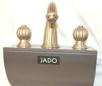 Jado Faucet Bathroom Lavatory Faucet Fluted Design Satin Nickel STORE DISPLAY