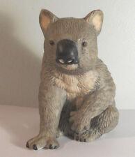 "Australian Wildlife~Koala Bear Porcelain Statue Figurine 4""H tree cub"