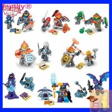 2017 HOTDEAL 8Pcs/lot LEGO Nexus Knights Toys Building  Figures Toys for Kid