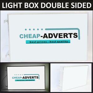 LightBox LED Projecting double sided Illuminated Sign FREE DESIGN - 60cm x 60cm