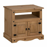 Corona Straight TV Unit Mexican Pine by Mercers Furniture®