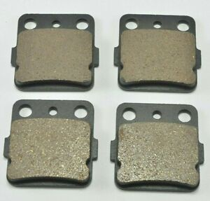 Front and Rear Brake pads for Honda 250 TRX250X Fourtrax 1987 1988 1991 1992