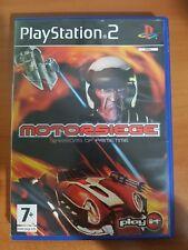 MOTORSIEGE: WARRIORS OF PRIMETIME - PLAYSTATION 2 PS2 USATO