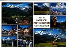 Garmisch-Partenkirchen , Werdenfelser Land , Ansichtskarte, 1999 gelaufen
