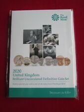 More details for 2020 uk definitive 8 coin set bunc mint condition