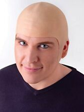 Large Full Coverage Bald Latex Head Cap Uncle Fester