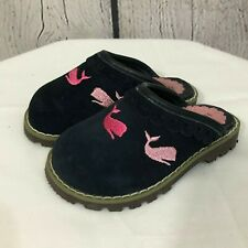 Hartstrings Pink Whale Slip On Clogs Little Girls Size 3
