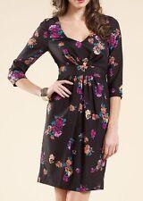 Monsoon Silk Party 3/4 Sleeve Dresses for Women