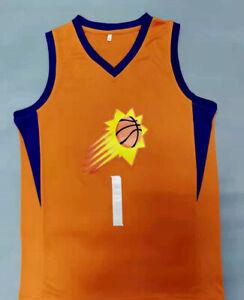 Herren Basketball Suns Jersey Trägershirt Booker Ayton Stickerei das Stadt Weste