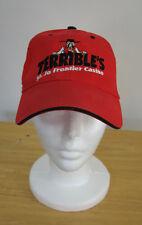 SEBA Hats Terrible's St Jo Frontier Casino Red Snapback Baseball Cap