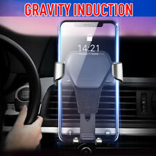 Universal Car Phone Holder AirVent Mount Stand Gravity Bracket For iPhone Huawei