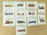 SPECIAL LOT Bhutan 1990 810-21 - Steam Locomotives - 10 Sets of 12 S/S - MNH