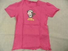 SCHIESSER schönes T-Shirt Miss Monkey Affe pink Gr. 152 TOP ST120