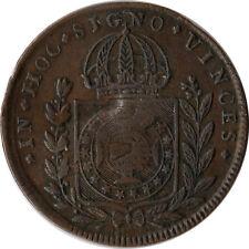 1824 Brazil 40 Reis Large Coin KM#363.1