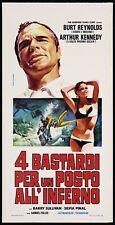 4 Bastard for a Place all'Inferno: Cinema 1973 Sexy Bikini Playbill