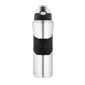 Under Armour Dominate US4717SS4 24 fl oz Stainless Steel Silver Black Bottle