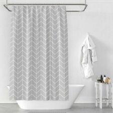 Waterproof Mildew Polyester Shower Curtain Toilet Partition Curtains Bathroom