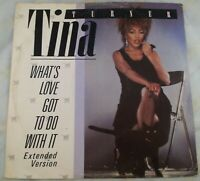 "Tina Turner : What's Love Got To Do With It : Vintage 12"" Vinyl Single From 1984"