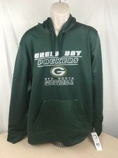 Green Bay Packers Football Hoodie - Green - XL - New with Tags