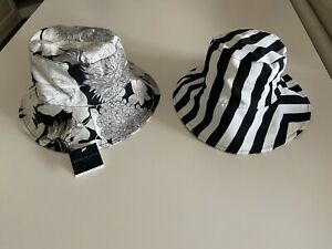 Burberry London Hut Damen Sommerhut Wendehut HAT CAP reversible size M  new