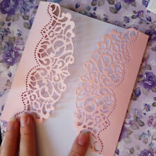 Lace Hollow Metal Cutting Dies Scrapbooking Embossing Paper Card Craft Decor DIY