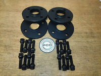2 PAIR MINI Cooper/One 2001-06 Hubcentric Wheel Spacers 20mm Wide 16 Bolts BLACK