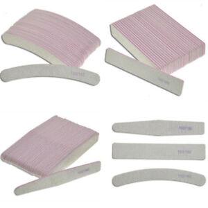 4pcs Nail Art Sanding File Buffer Acrylic Block Manicure Tips UV Gel Polisher @N