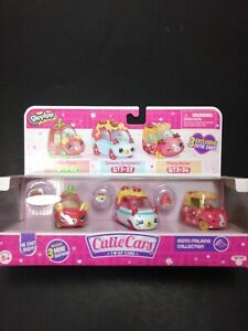 Shopkins Cutie Cars Moto Italiano Collection Exclusive Car 3 Pack Cars BRAND NEW