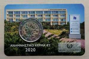 Zypern 2 Euro 2020 Neurologie und Genetik Coincard  Nur 6.000 Stück!
