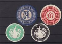 letter seals stamps  ref r15784