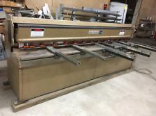 Crefco Eb300010 Mechanical Shear Fabrication 10 Gauge Capacity 10 Ft Length