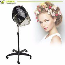 Stand Up Bonnet Hair Dryer w/ Timer Swivel Hood Caster Salon Professional