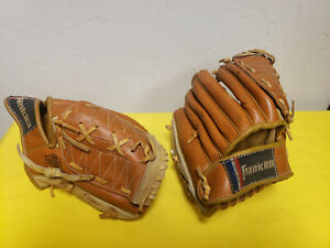 Franklin Youth Baseball Glove / mitt set of 2 -- Top Grain Steerhide