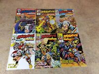MOTORMOUTH #7,8,9,10,11,12 LOT OF 6 NM COMIC 1992-1993 MARVEL