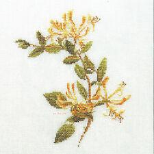 Stickvorlage * Geißblatt - Honeysuckle * Thea Gouverneur Kreuzstich DMC Anchor