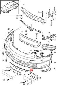 Genuine PORSCHE 911 Carrera 997 Spoiler Black 9975055570201C