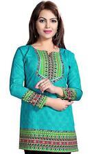 NEW Printed Crepe tunic top blouse - Printed crepe kurta size 50