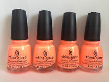 China Glaze Flip Flop Fantasy Nail Polish Lacquer With Hardeners 14ml