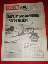 AVIATION NEWS  - *** FIRST ISSUE*** - 26 MAY 1972 - Vol 1 #1