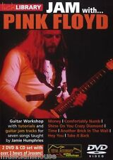 Lick Library Learn To Play Jam Con Pink Floyd Comfortably Numb dinero Guitarra Dvd