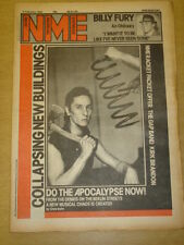 NME 1983 FEB 5 BILLY FURY THE GAP BAND KIRK BRANDON