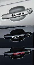 Para Kia Motors 4 x Mango de Puerta Coche Decal Sticker Adhesivo-CEE lo 95mm de largo