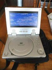 "Portable DVD Player 7"" SPECTRONIQ PDV-70X  Case & Charger w/Risky Business Disc."