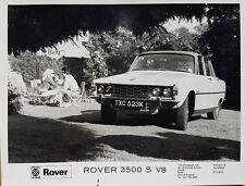 Rover P6 3500 - British Leyland U.K. Ltd  Black & White Press Photograph - 1971