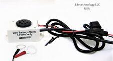 Prevent a Dead Stored Battery, Voltage Monitor 12 Volt Discharge Detector Alarm