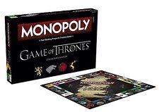 NUOVO Game of Thrones MONOPOLY EDIZIONE PER COLLEZIONISTI-Brand New & Sealed veloce P & P