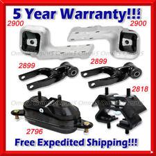 L743 Fits: 1997-2005 Chevrolet Venture 3.4L 2WD, Motor & Trans Mount Set 6pcs