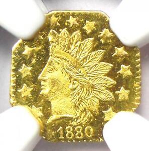 1880 Indian California Gold Half Dollar 50C BG-954 - NGC MS67 DPL - Top Pop 2/0